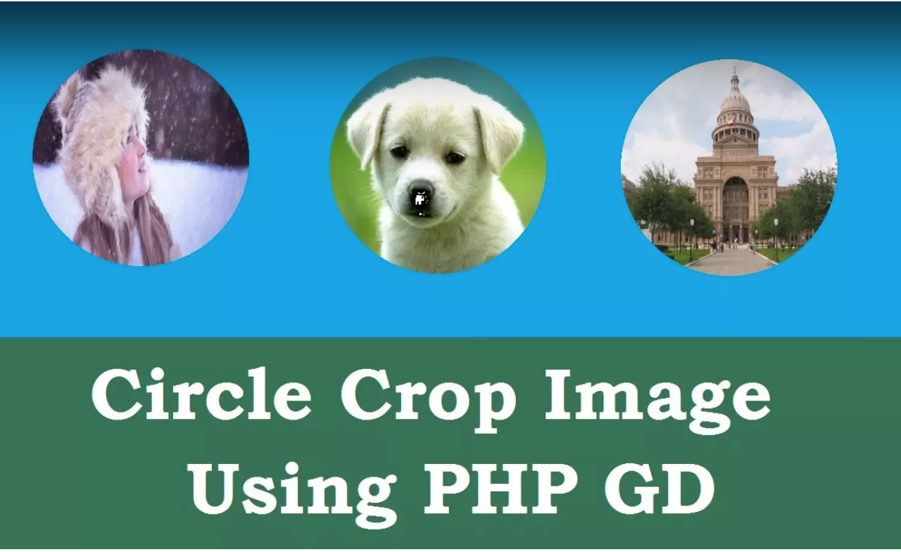 Transparent circular crop using PHP GD